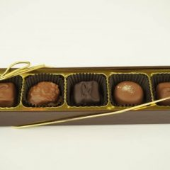 5 Piece Assorted Chocolates.