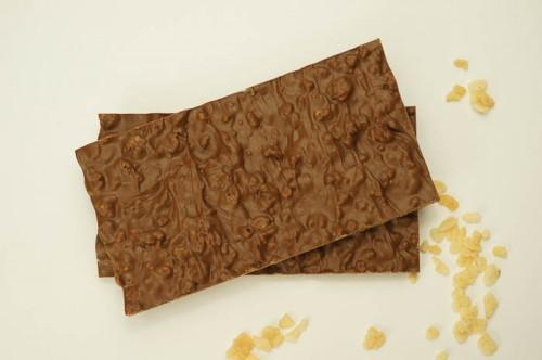 Milk Chocolate Krispy Bark