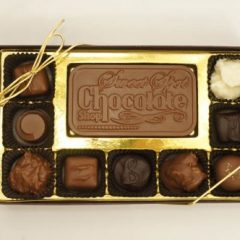 9 Piece Assorted Chocolates with Bar