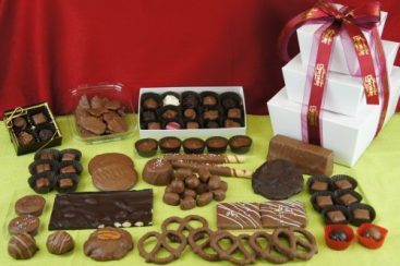 Gift Pack Stack Assorted chocolates
