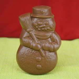 Milk Chocolate Snowman