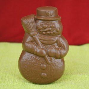 Milk Chocolate Snowman