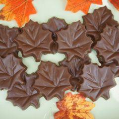 Milk Chocolate Leaves