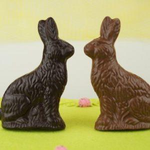 Flat Chocolate Bunnies