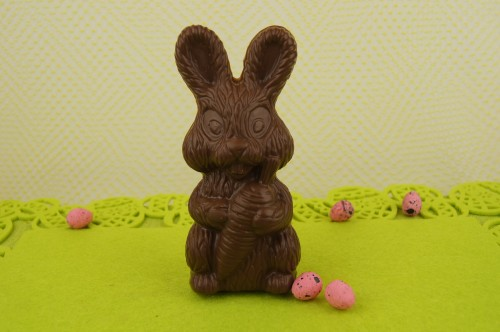 Chocolate Bunny with Carrot