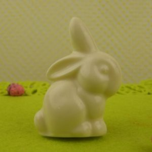 White Chocolate Floppy Ear Bunny