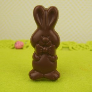 Milk Chocolate Bunny with Bowtie