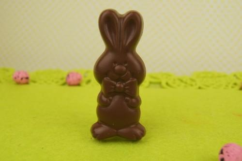 Milk Chocolate Bunny with Bowtie