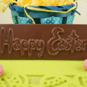 Milk Chocolate Happy Easter Bar