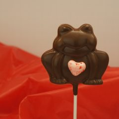 Frog on a Stick with Heart