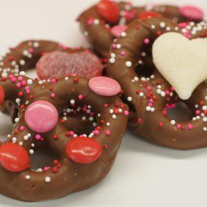 Double Dipped Valentine Pretzel