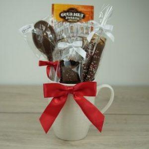 Coffee and Chocolate Mug
