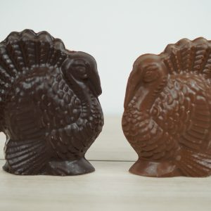 Milk and Dark Chocolate Turkey