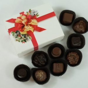 9 piece Chocolate Box Christmas