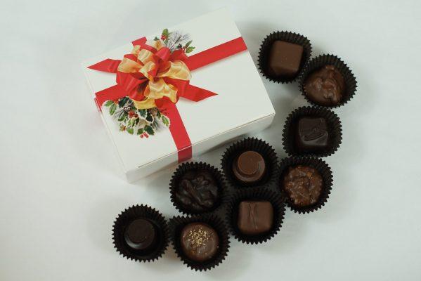 9 piece Chocolate Box Christmas
