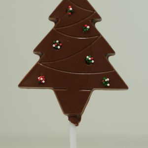 Chocolate Flat Tree Christmas