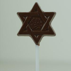 Milk Chocolate Star of David