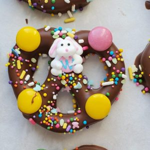 Double Dipped Easter Pretzel