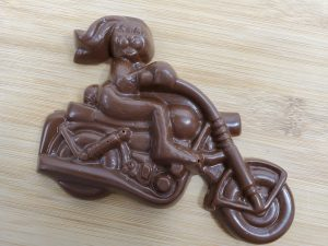 Easter Bunny on Bike