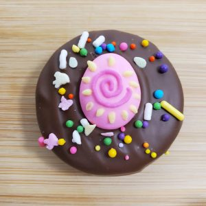 Easter Oreo Cookie with Sprinkles
