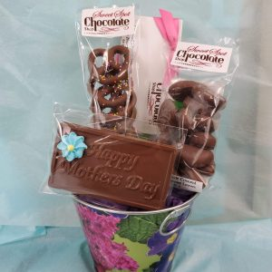 Mother's Day Tin Basket