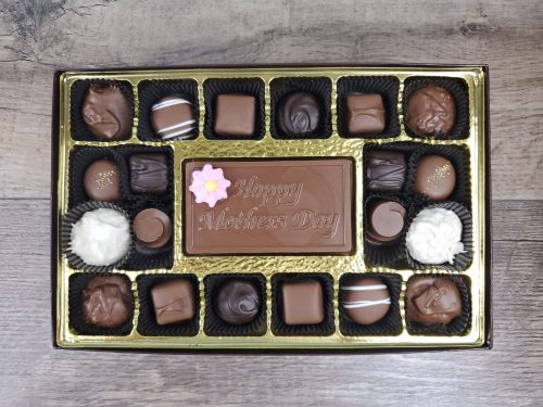 20 Piece Assorted Chocolates with Happy Mother's Day Bar