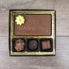 3 Piece Assorted Chocolates with Happy Mother's Day Bar