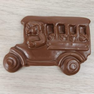 Milk Chocolate School Bus