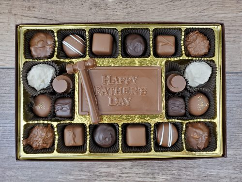 20 piece Assorted Chocolates with Happy Father's Day Bar