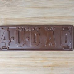 4 U Dad Licence Plate