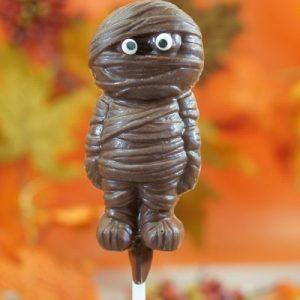 Sweet Spot Chocolate Shop Milk Chocolate Mummy o n Stick