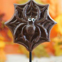 Sweet Spot Chocolate Shop Milk Chocolate Spider Stick