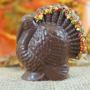 Sweet Spot Chocolate Shop Milk Chocolate Turkey w Sprinkle