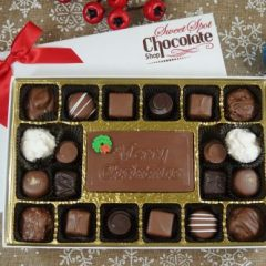 Sweet Spot Chocolate Shop 20 piece with Bar