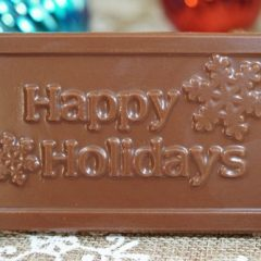 Sweet Spot Chocolate Shop Happy Holidays Bar