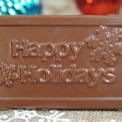 Sweet Spot Chocolate Shop Happy Holidays Bar