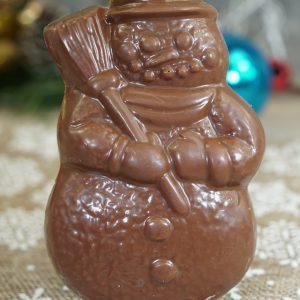 Sweet Spot Chocolate Shop Santa Head Pop