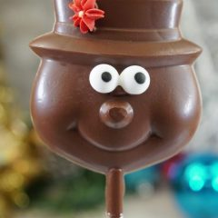 Sweet Spot Chocolate Shop Snowman with Top Hat Pop