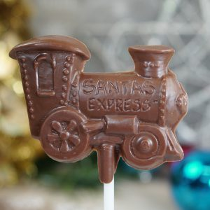 Sweet Spot Chocolate Shop Train Pop
