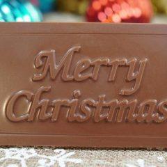 Sweet Spot Chocolate Shop Merry Christmas Bar