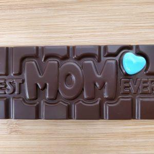 'Best Mom Ever' Chocolate Bar